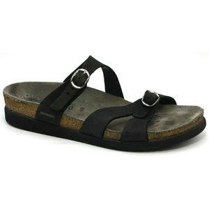 Mephisto Womens Hannel Black Sandals Size 40 9